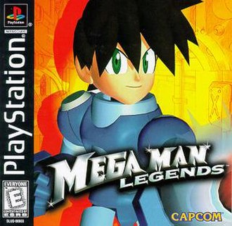 Mega Man Legends (video game) - Image: MM Legends Box