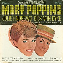 6c04eb28c8b Mary Poppins (soundtrack) - Wikipedia