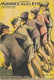 <i>Men Before Marriage</i> 1927 film by Constantin J. David
