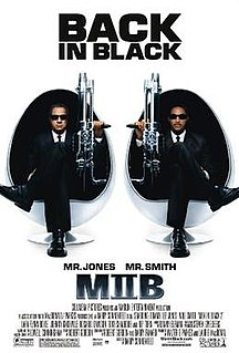<i>Men in Black II</i> 2002 science fiction-film directed by Barry Sonnenfeld