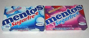Perfetti Van Melle - Mentos sugar free manufactured by Perfetti Van Melle