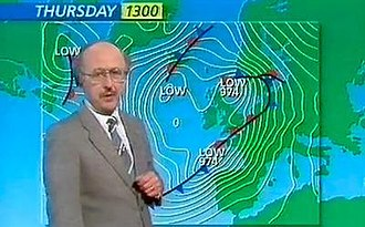 Great Storm of 1987 - Michael Fish's 15 October 1987 forecast on the BBC