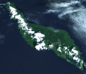 Misima Island - Misima Island from space