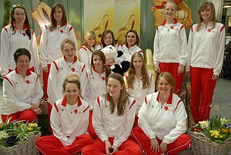 Netball Switzerland - Image: NS 2010 U17 Netball