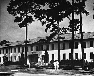 Charleston Naval Hospital Historic District - Charleston Naval Hospital in 1948