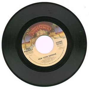 New York Groove - Image: New York Groove single