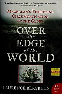 <i>Over the Edge of the World</i> Book by Laurence Bergreen