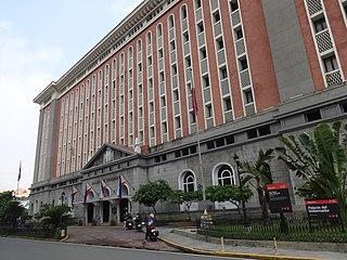 Palacio del Gobernador Government building in Manila