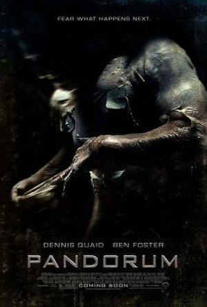 Pandorum - Theatrical release poster