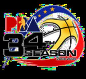 2008–09 PBA season - Image: Pba 2008 09