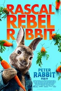 <i>Peter Rabbit</i> (film) 2018 film by Will Gluck