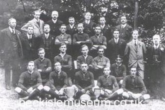 Pickering Town F.C. - Pickering Town football squad of 1919–20.