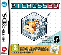 Picture of a game: Picross 3d