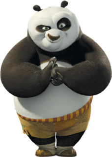 title character and the protagonist of the Kung Fu Panda franchise
