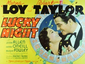 Lucky Night - Theatrical release poster