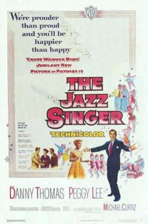 The Jazz Singer (1952 film) - Original movie poster