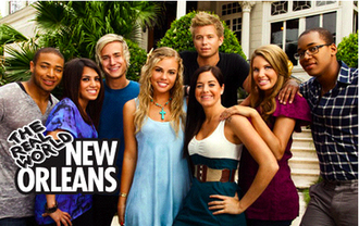 The Real World: New Orleans (2010 season) - The cast of The Real World: New Orleans (from left to right)