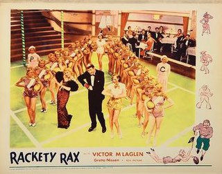 <i>Rackety Rax</i> 1932 film by Alfred L. Werker