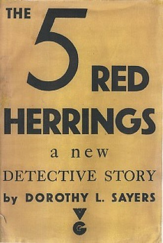 The Five Red Herrings - First edition