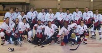 Cardiff Redhawks - The Redhawks team in their first ever match