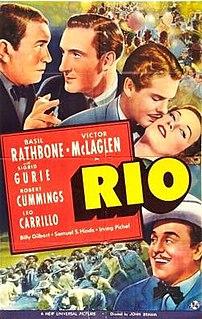 <i>Rio</i> (1939 film) 1939 film by John Brahm