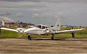 2012 Philippine Piper Seneca crash - The Piper PA 34-200 Seneca involved in the accident.