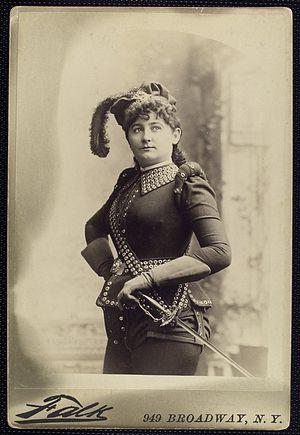 Rose Beaudet - Rose Beaudet in about 1890