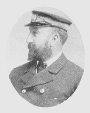 SS Mohegan - Captain Richard Griffith, commander of the Mohegan on her last voyage