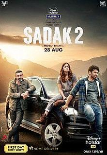 <i>Sadak 2</i> 2020 film by Mahesh Bhatt
