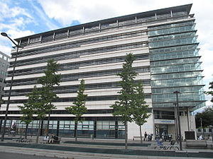 Sanofi - Former head office 174 avenue de France, Paris 13th around.