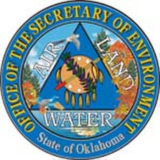 Oklahoma Secretary of the Environment - Image: Seal of OK Secretary of the Environment