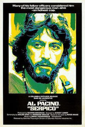 Serpico - Theatrical release poster