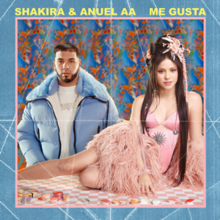Shakira and Anuel AA - Me Gusta.png