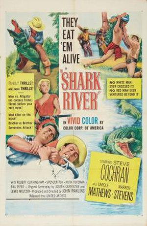 Shark River (film) - Theatrical release poster