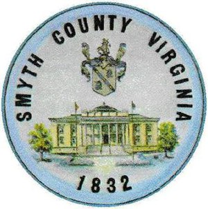 Smyth County, Virginia - Image: Smyth Seal