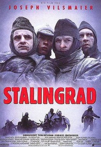 Stalingrad (1993 film) - Theatrical release poster