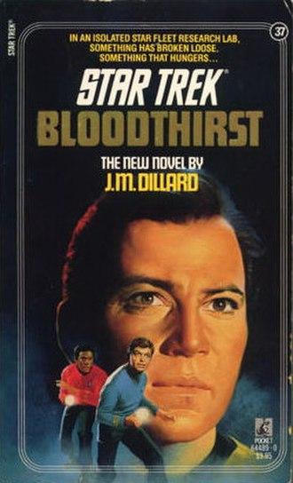 Bloodthirst (novel) - Image: Star Trek Pocket Book Bloodthirst