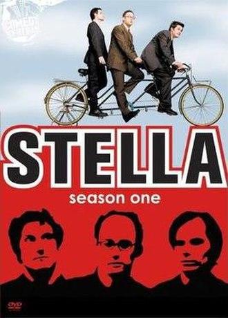 Stella (U.S. TV series) - DVD cover for season one of Stella.