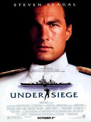 Under Siege - Theatrical release poster