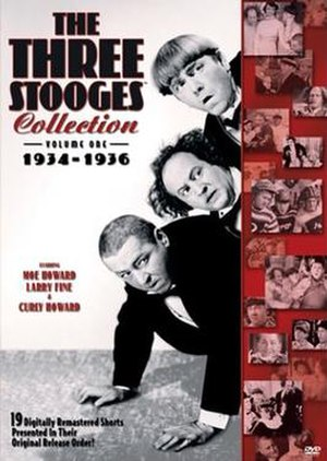 The Three Stooges Collection - The Three Stooges Collection, Volume One: 1934–1936 DVD cover.