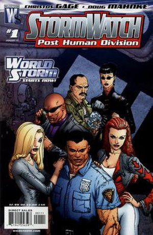 Stormwatch: Post Human Division - Cover of the first issue