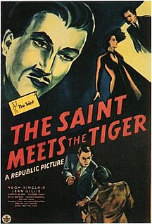 <i>The Saint Meets the Tiger</i> 1943 film by Paul L. Stein
