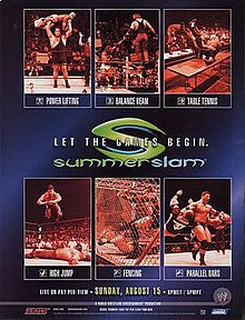 Image result for wwe summerslam 2004