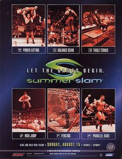 SummerSlam (2004) 2004 World Wrestling Entertainment pay-per-view event