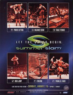 SummerSlam (2004) - Promotional poster