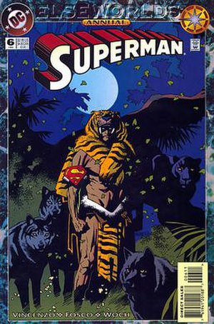 Superman: The Feral Man of Steel - Cover for Superman: The Feral Man of Steel