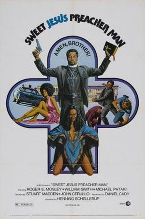 Sweet Jesus, Preacherman - Theatrical release poster