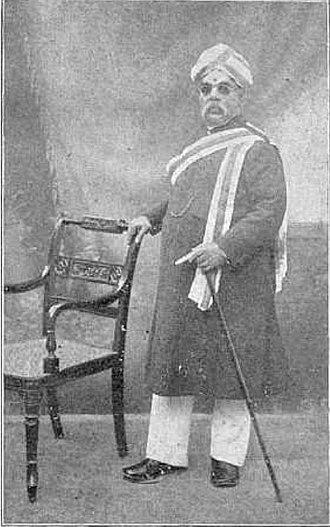 T. Ananda Rao - Portrait of Tanjore Ananda Rao
