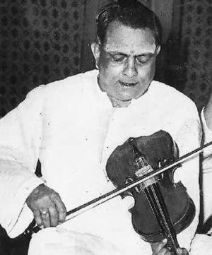 Musicians of the Kingdom of Mysore - Violinist T. Chowdiah