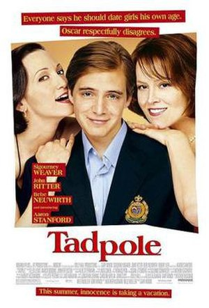 Tadpole (film) - Theatrical release poster